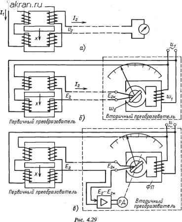 Преобразователь вторичный электрическая схема4