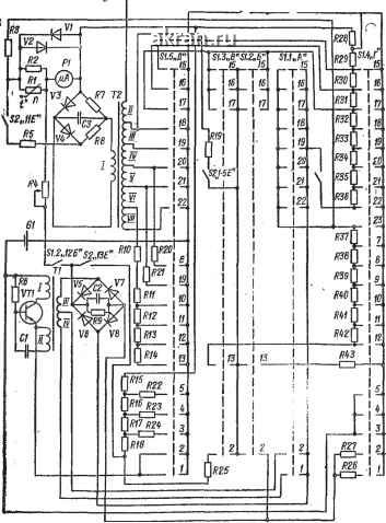 схема электрическая принципиальная сабвуфера
