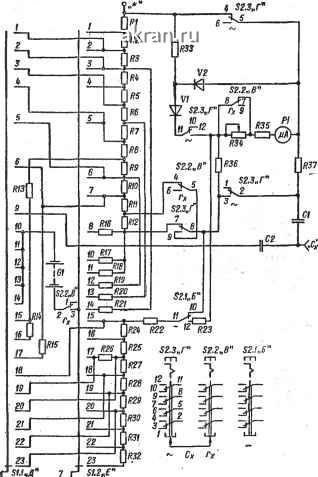 электрическая схема Ц-4313